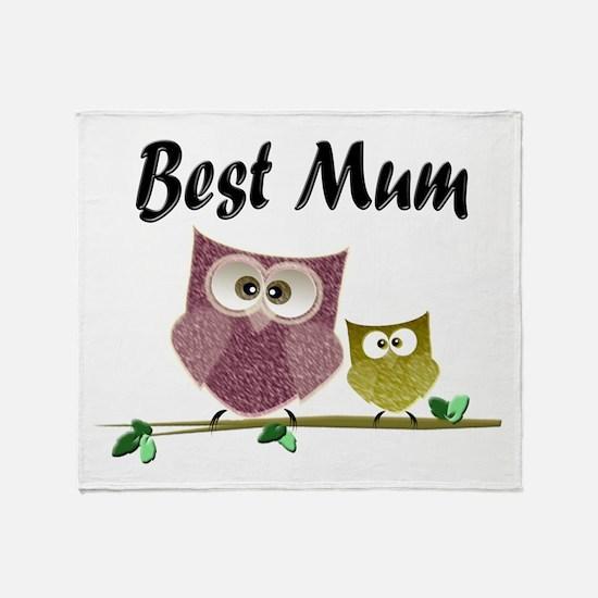 Best Mum Throw Blanket