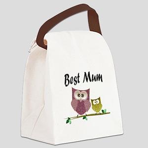 Best Mum Canvas Lunch Bag