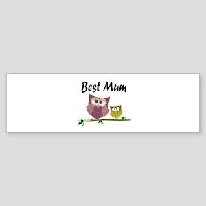 Best Mum Bumper Sticker