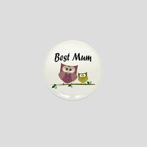 Best Mum Mini Button