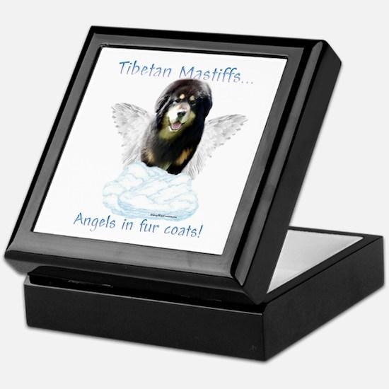 Tibetan Angel Keepsake Box