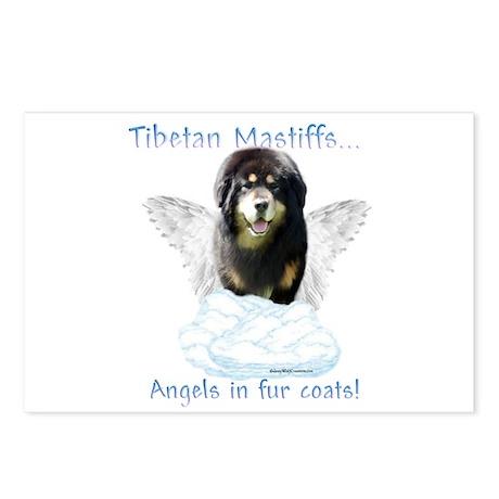 Tibetan Angel Postcards (Package of 8)
