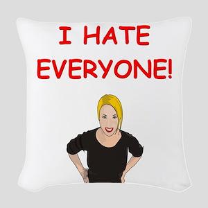 5 Woven Throw Pillow