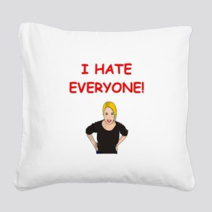 5 Square Canvas Pillow