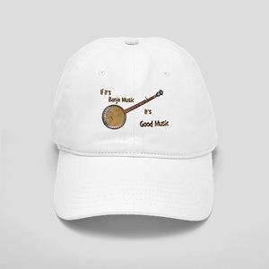 Banjo Music Baseball Cap