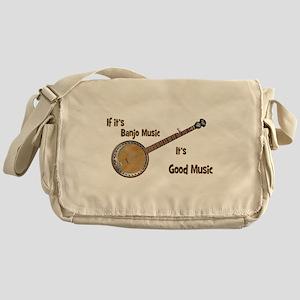 Banjo Music Messenger Bag