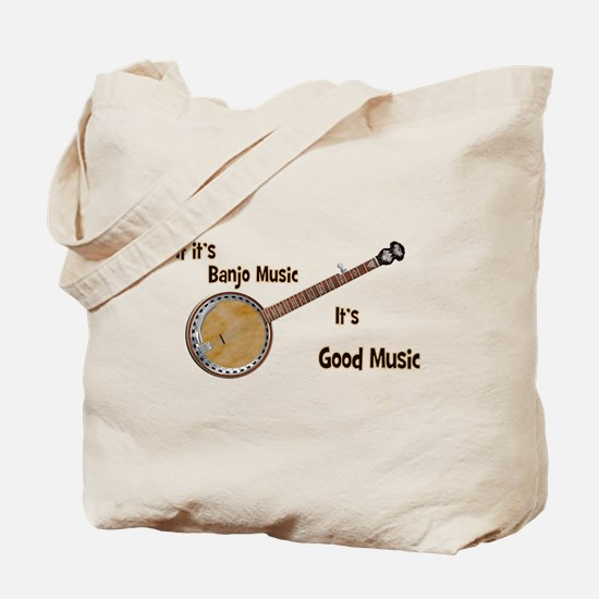 Banjo Music Tote Bag
