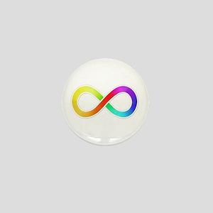 Infinity-Sticker Mini Button (10 pack)