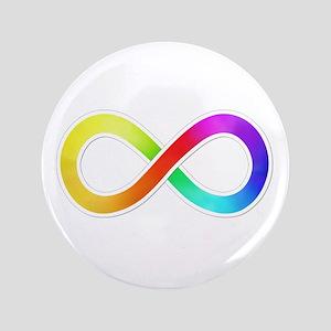 "Infinity-Sticker 3.5"" Button"