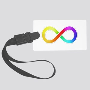 Infinity-Sticker Luggage Tag