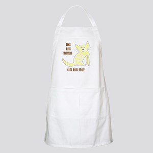 Dogs have masters, cats have staff BBQ Apron