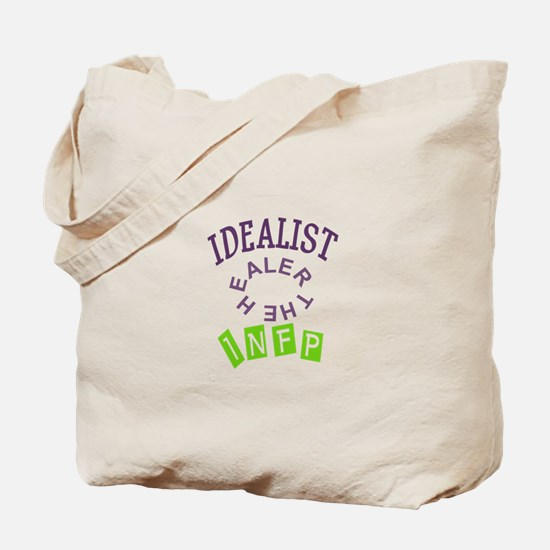 IDEALIST INFP THE HEALER Tote Bag