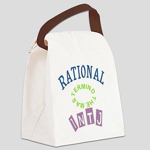 INTJ RATIONAL THE MASTERMIND Canvas Lunch Bag