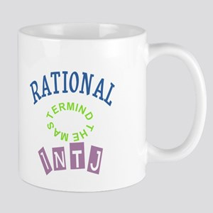 INTJ RATIONAL THE MASTERMIND Mugs