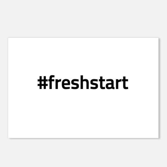 #freshstart Postcards (Package of 8)
