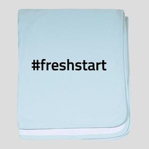 #freshstart baby blanket