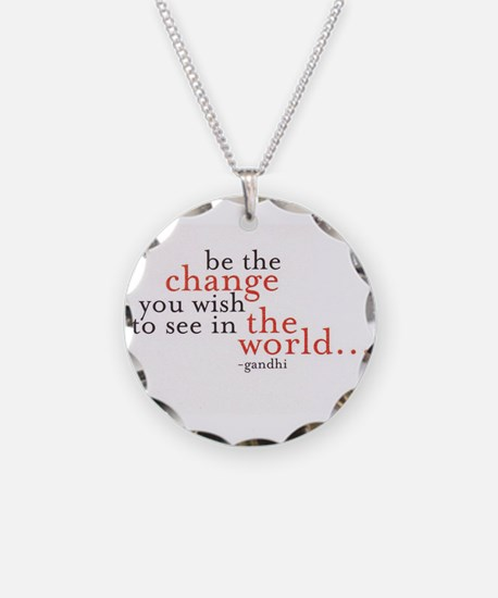 Funny Change Necklace