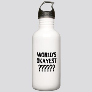 Worlds Okayest | Personalized Water Bottle