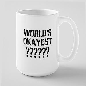 Worlds Okayest | Personalized Funny Coffee Mugs