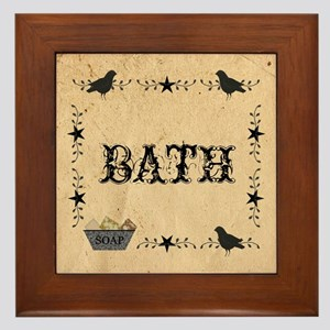 Primitive Bath Framed Tile