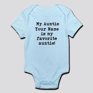 My Favorite Auntie (Custom) Body Suit