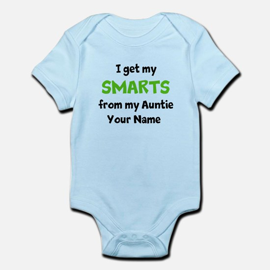 I Get My Smarts From My Auntie (Custom) Body Suit