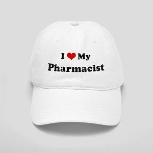 I Love Pharmacist Cap