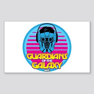 80s Star Lord Sticker (Rectangle)