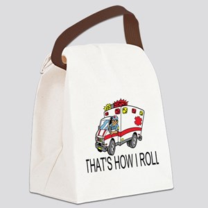 Ambulance driver Canvas Lunch Bag