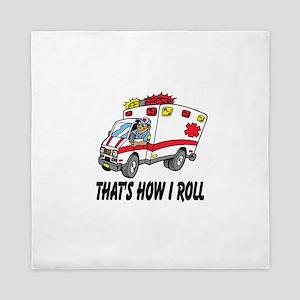 Ambulance driver Queen Duvet