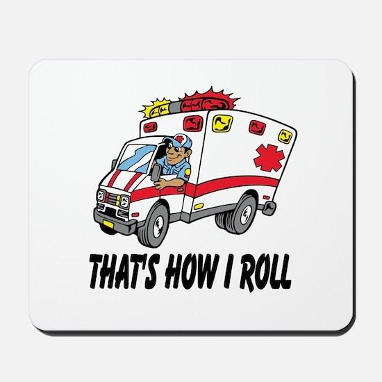 Ambulance driver Mousepad