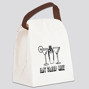 Bartending Canvas Lunch Bag