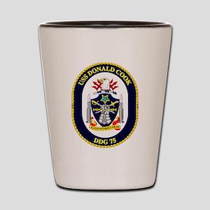 DDG-71 USS Ross Shot Glass