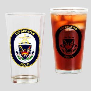 USS Decatur DDG-73 Drinking Glass
