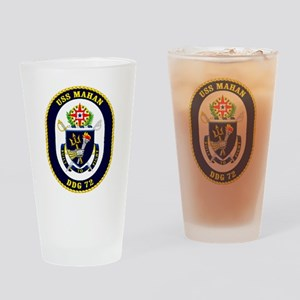DDG-72 USS Mahan Drinking Glass
