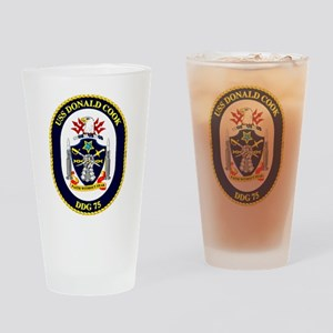 DDG-71 USS Ross Drinking Glass