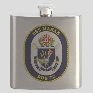 DDG-72 USS Mahan Flask