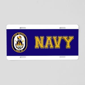 USS McFaul DDG 74 Aluminum License Plate