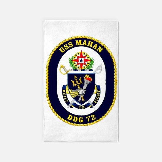 DDG-72 USS Mahan 3'x5' Area Rug