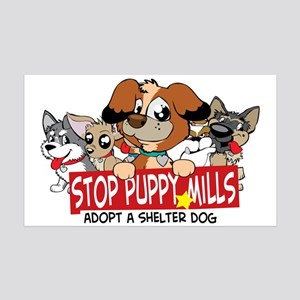 STOP Puppy Mills Wall Decal
