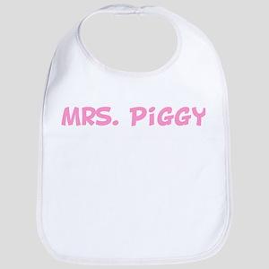 Mrs. Piggy  Bib