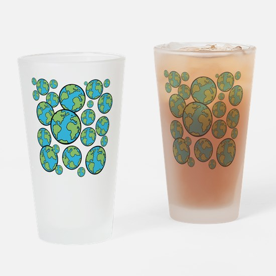 Parallel universe Drinking Glass