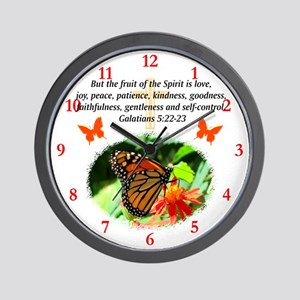 GALATIANS 5 Wall Clock