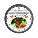 Galatians 5 Wall Clocks