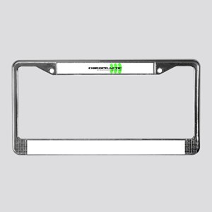 green License Plate Frame