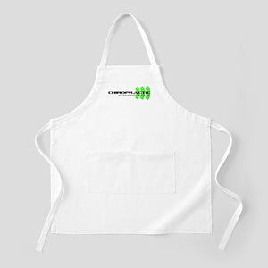 green BBQ Apron