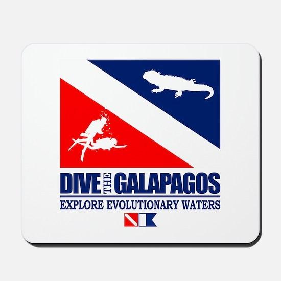 Dive The Galapagos Mousepad