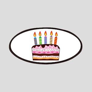 Birthday Cake Food Dessert Patches