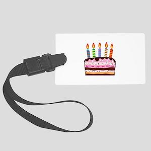 Birthday Cake Food Dessert Luggage Tag