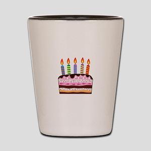 Birthday Cake Food Dessert Shot Glass